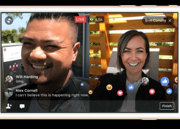 צ'ט + שידור חי משותף עם אורח: 2 פיצ'רים חדשים לפייסבוק LIVE